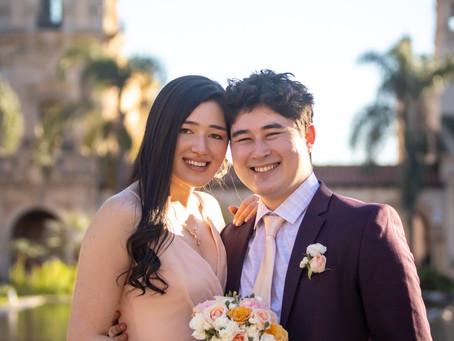日本人ママを持つおふたりの結婚式。