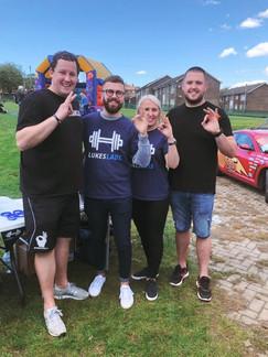 Fundraising for Luke's Lads