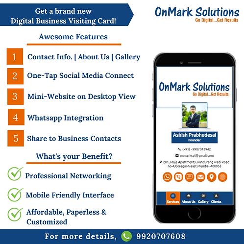 Digital Business Visiting Card