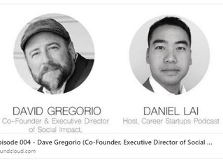 ImPowerQ's Co-Founder Dave Gregorio featured on Career Startups, Inc.  Podcast with Daniel Lai.