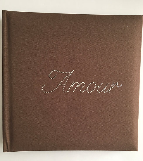 Livre d'or Strass - Amour Chocolat
