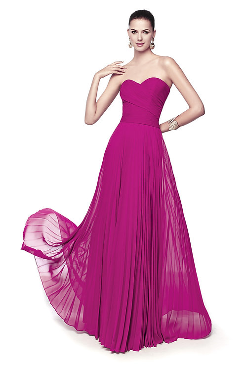 Robe de cocktail longue - 5364