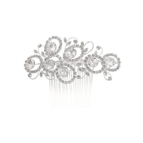 Peigne de mariée strass - Audacieux