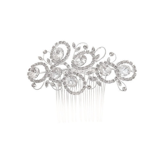 Peigne de mariée strass Crinoligne - Audacieux