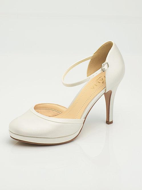 Chaussures de mariée satin AVALIA - DONA