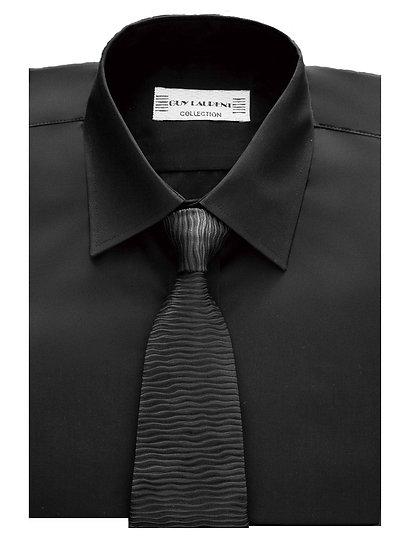 Chemise col classique - Noir