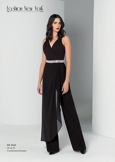 Combinaison pantalon - NY2543 Couleur Noir