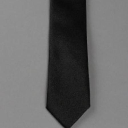 Cravate enfant satin unie - Max