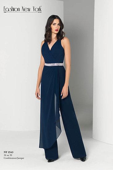 Combinaison pantalon - NY2543 Couleur Bleu marine