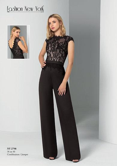 Combinaison pantalon - NY2798 Couleur Noir