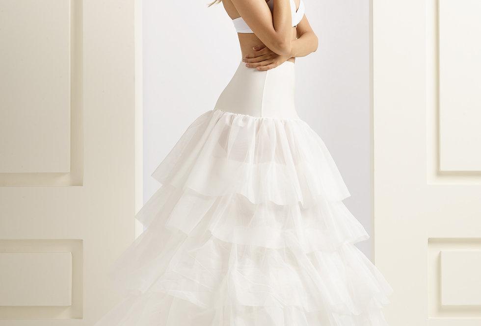 Jupon mariée 4 cerceaux 320 cm - H19-320