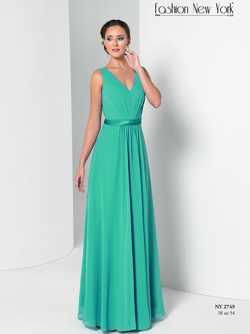 Robe de cocktail longue - NY2749
