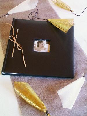 Livre d'or personnalisable - Chocolat