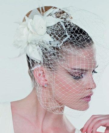 Coiffe de mariée avec voilette Emmerling - 20000