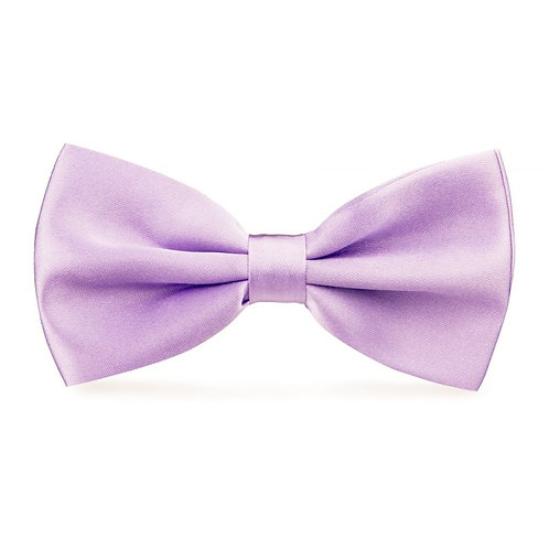 Noeud papillon satin - Lilas