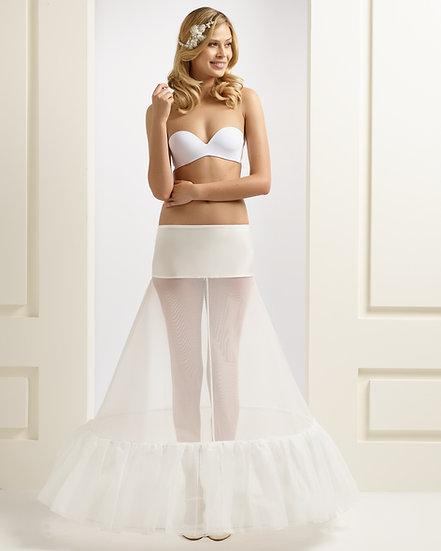 Jupon mariée 2 cerceaux 320 cm - H1-320