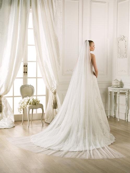 Voile de mariée tulle souple - V-2007