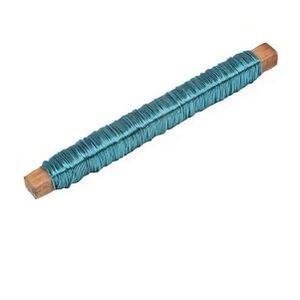 Fil d'aluminium 20m - Bleu Turquoise