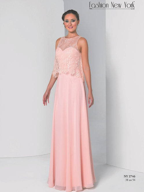 Robe de cocktail longue - NY2746