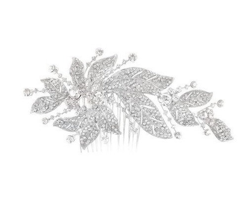 Peigne de mariée strass Crinoligne - Fontaine