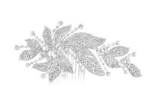 Peigne de mariée strass - Fontaine