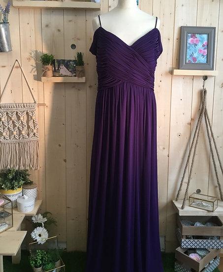 Robe de cocktail longue - CI1559 Couleur Violet