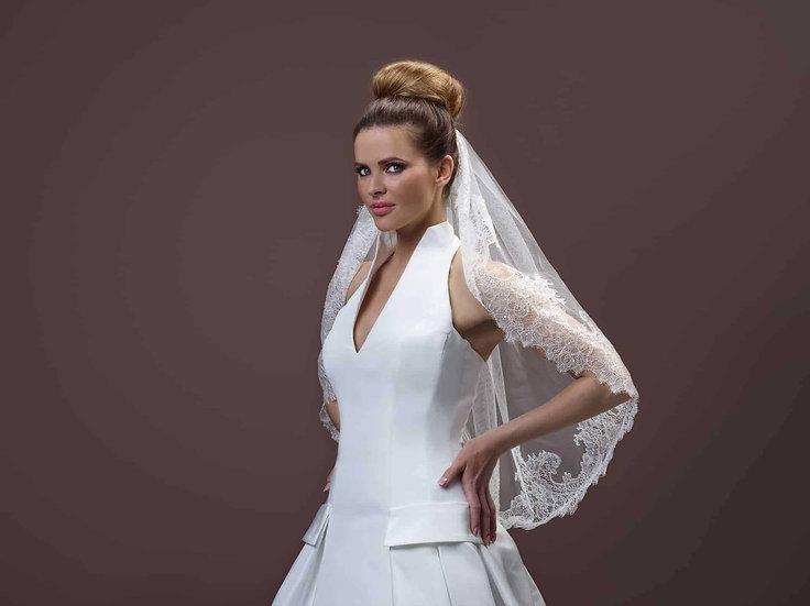 Voile de mariée 75 cm Crinoligne - Carmen