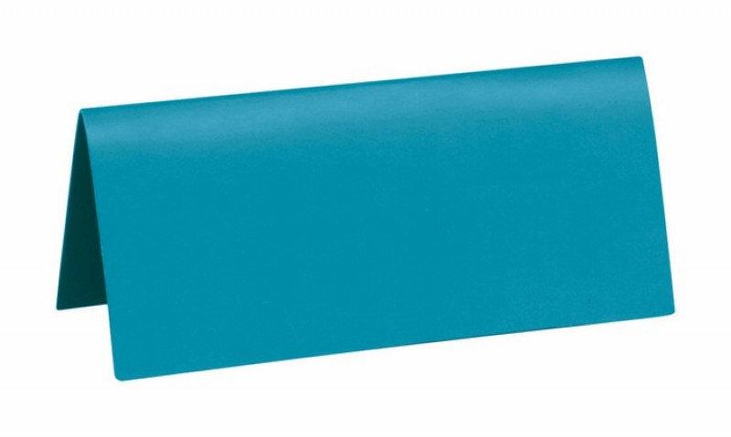 Sachet 10 marques places cartonnés - Bleu