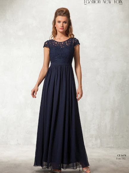 Robe de cocktail longue - CI1478