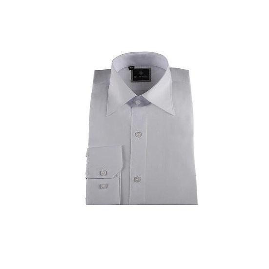 Chemise enfant - Col Classique Couleur Blanc