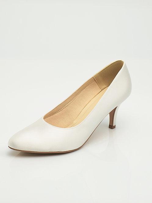 Chaussures de mariée satin AVALIA - ANNA