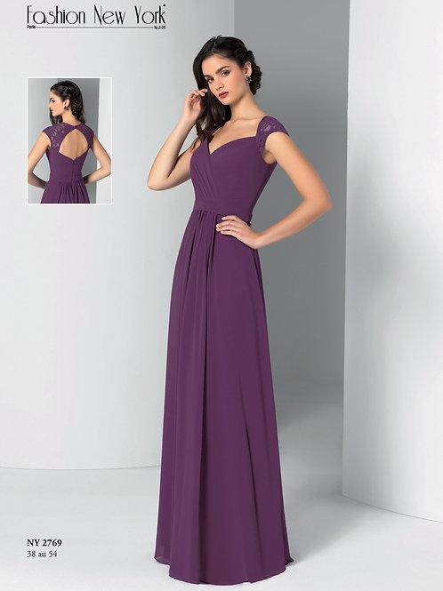 Robe de cocktail longue - NY2769