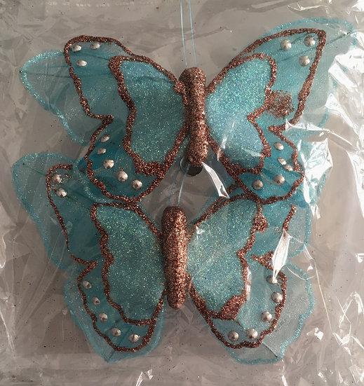 Décoration papillon - Couleur