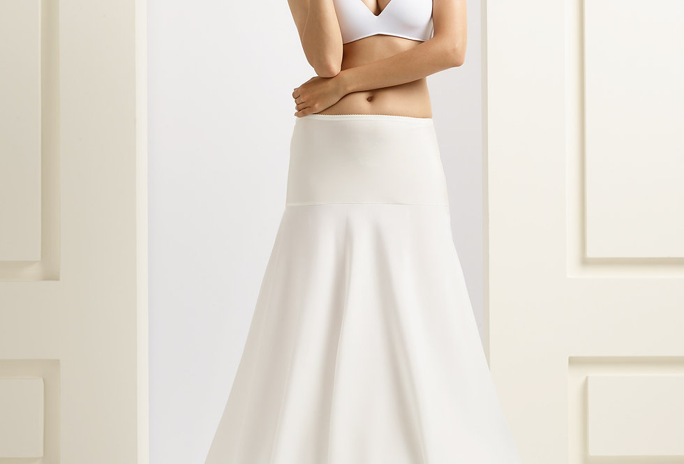 Jupon mariée 2 cerceaux 220 cm - H9-220