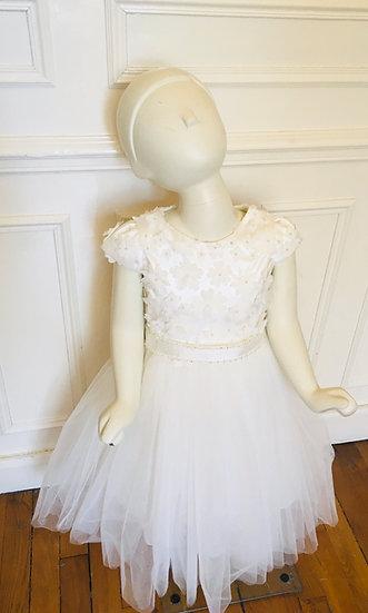 Robe de cortège Christella - Bonnie Ivoire