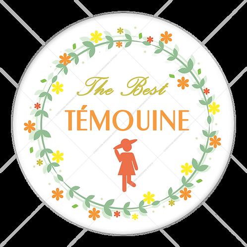 "Badge ""The Best Témouine"" - 1903"