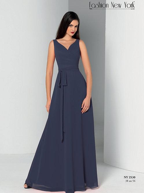 Robe de cocktail longue - NY2530