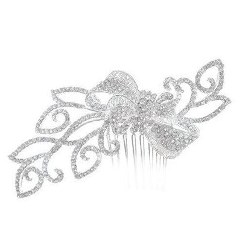 Peigne de mariée strass - Lola