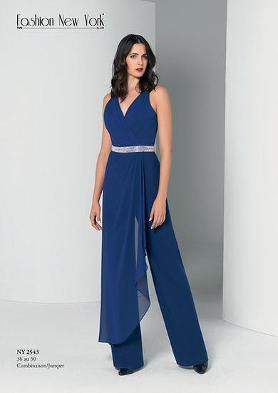 Combinaison pantalon - NY2543 Couleur Bleu roi