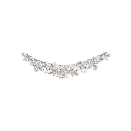 Peigne de mariée strass Crinoligne - Ancolie