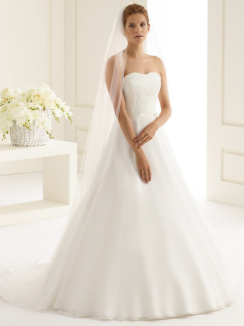 Voile de mariée tulle - S227