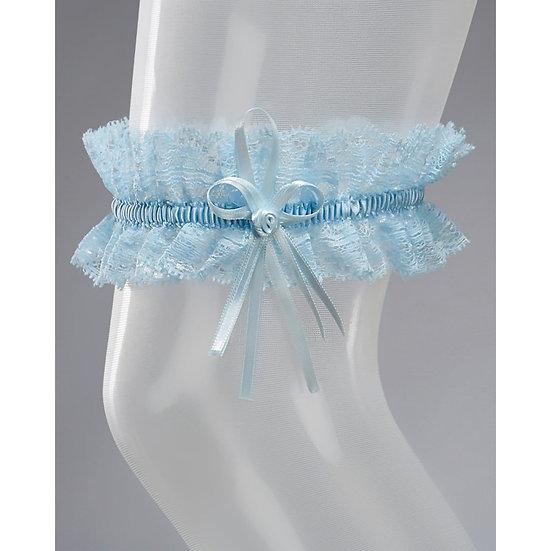 Jarretière Mariée SB-1 - Couleur Bleu