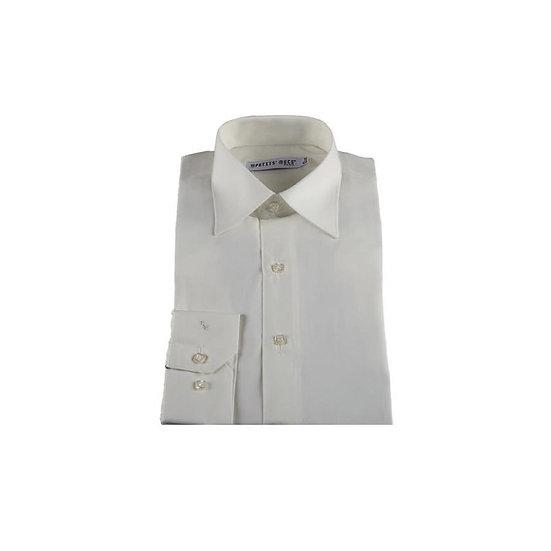 Chemise enfant - Col Classique Couleur Ivoire