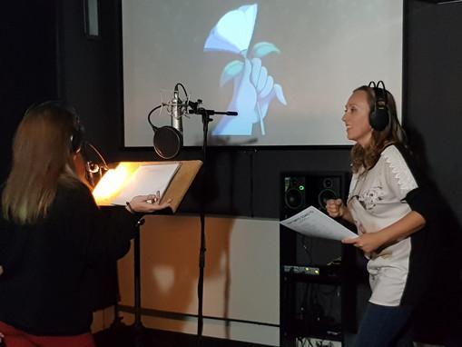 Curso de doblaje de canciones en Reverse Studio (Valladolid, noviembre 2019)