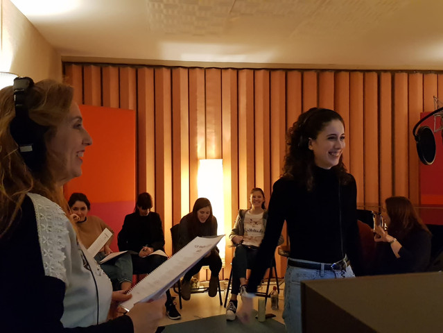 Monográfico con las canciones de Frozen en Idemm Estudios (Madrid, noviembre 2019)