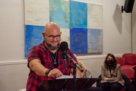 Erik Cruz participando en las Jornadas de Doblaje (Madrid, noviembre 2020)