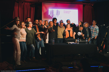 Proyecto Doblaje (Café Berlín, junio 2018)