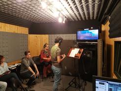 Curso avanzado de doblaje de canciones en Estudios Zoma (Zaragoza, diciembre 2018)