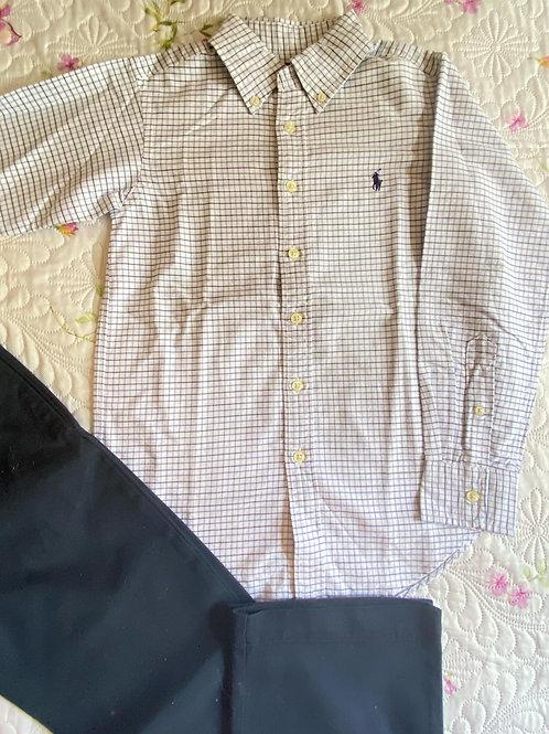 Camisa RALPH LAUREN - 16 ANOS