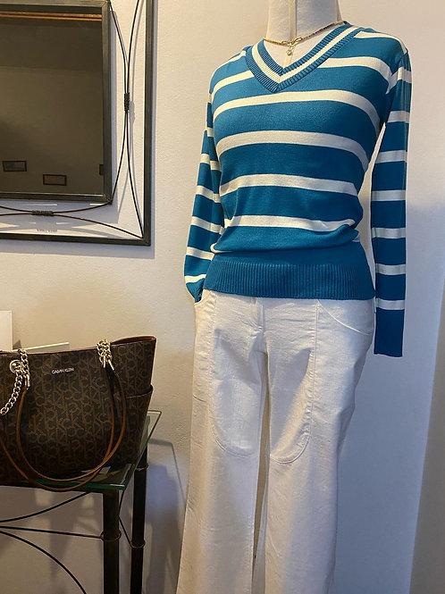 Blusa em tricot - Tam Unico